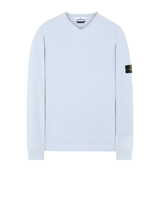STONE ISLAND 64350 Sweatshirt Man Pale Blue