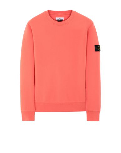 STONE ISLAND 63051 Sweatshirt Man Lobster Red USD 139