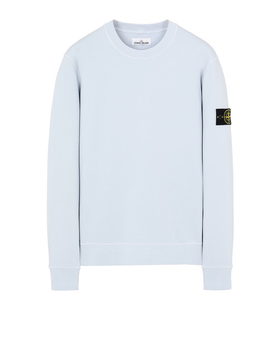 STONE ISLAND 63051 Sweatshirt Man Sky Blue