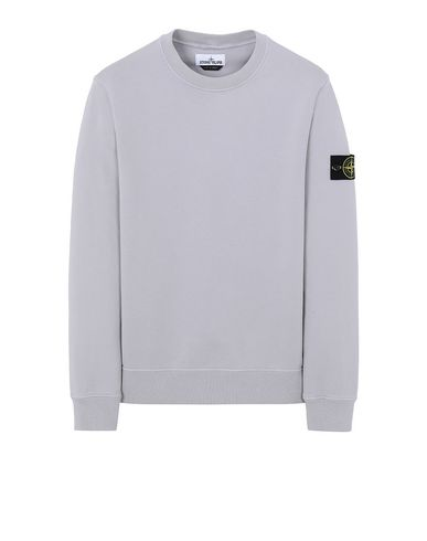 STONE ISLAND 63051 Sweatshirt Man Dust Grey EUR 139