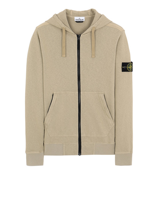 STONE ISLAND 64860 T.CO+OLD Sweatshirt Man Dark Beige