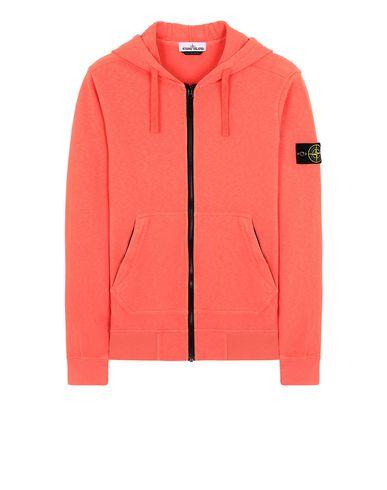 STONE ISLAND 64860 T.CO+OLD Sweatshirt Man Lobster Red EUR 289