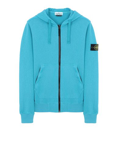 STONE ISLAND 64860 T.CO+OLD Sweatshirt Man Turquoise USD 200