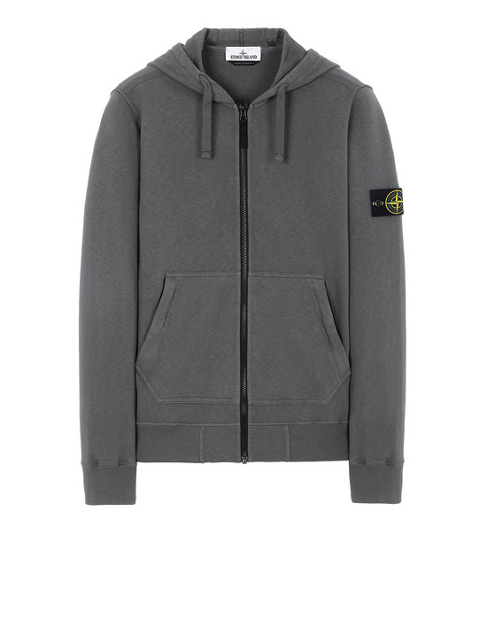 STONE ISLAND 64860 T.CO+OLD Sweatshirt Man Blue Grey