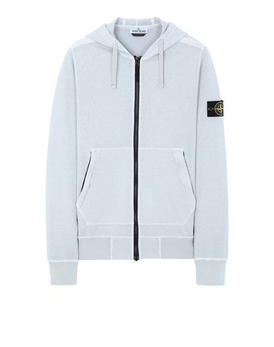 STONE ISLAND 64860 T.CO+OLD Sweatshirt Man Pale Blue EUR 303
