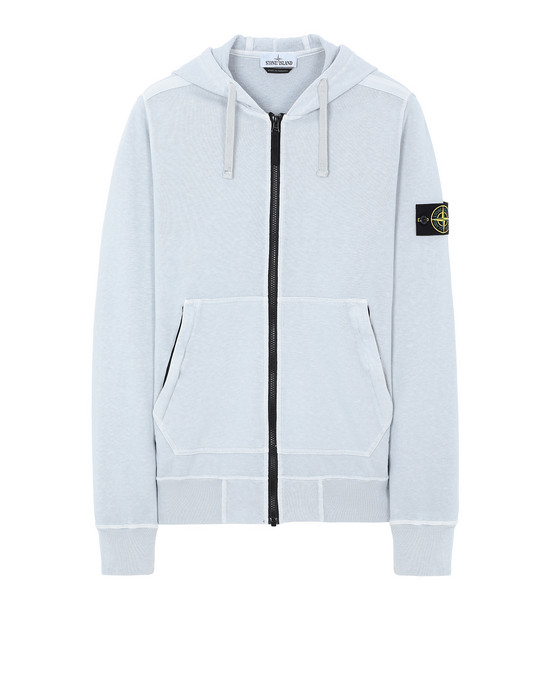 STONE ISLAND 64860 T.CO+OLD Sweatshirt Man Pale Blue