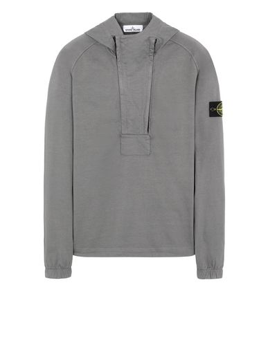 STONE ISLAND 61250 Sweatshirt Man Blue Grey USD 410