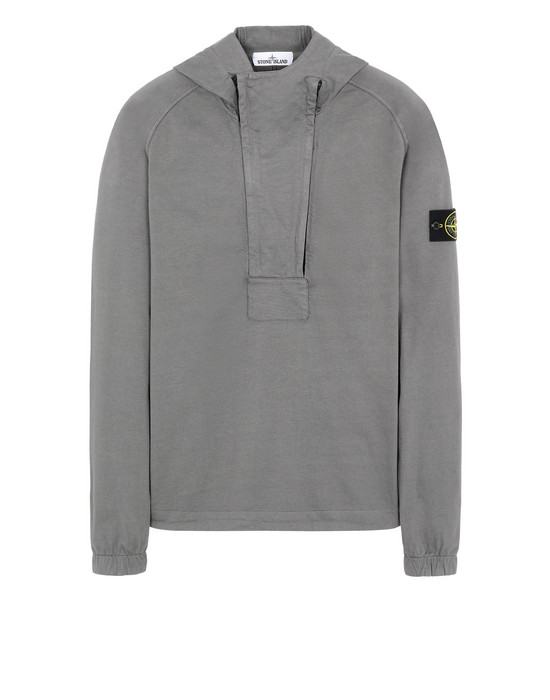 STONE ISLAND 61250 Sweatshirt Man Blue Grey