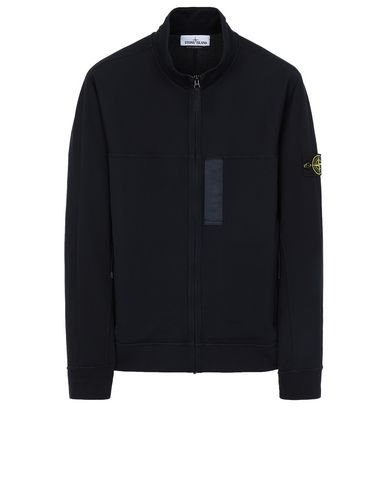 STONE ISLAND 62552 Zip sweatshirt Man Blue USD 253
