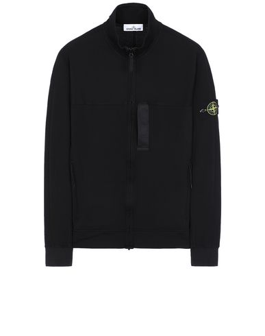 STONE ISLAND 62552 Zip sweatshirt Man Black USD 483