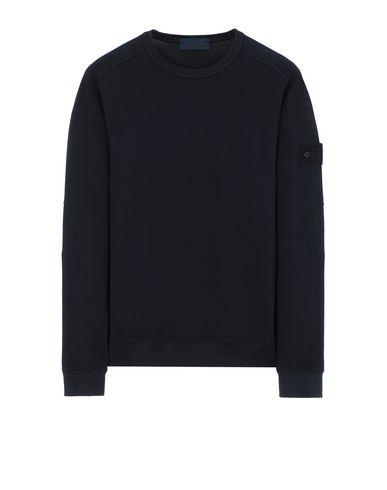 STONE ISLAND 637F3 GHOST PIECE Sweatshirt Man Blue USD 198