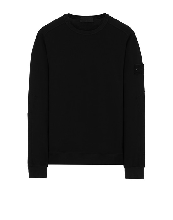 STONE ISLAND 637F3 GHOST PIECE Sweatshirt Man Black