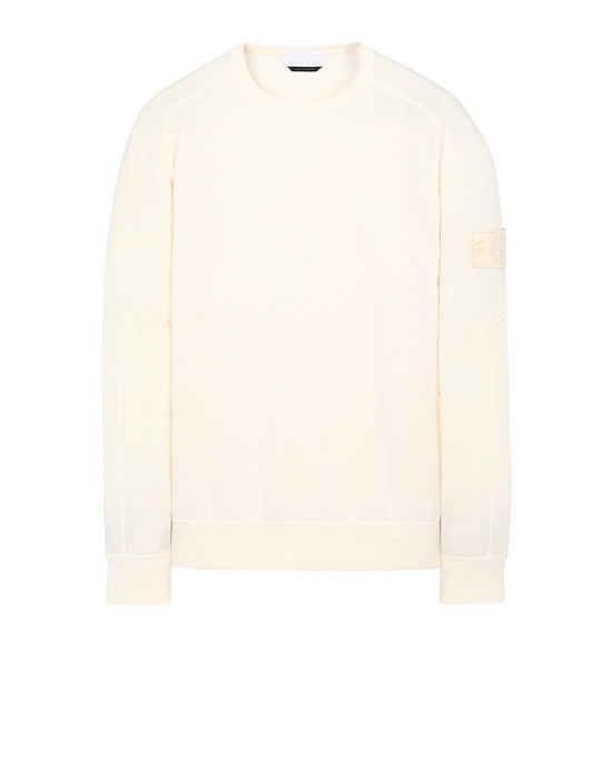 STONE ISLAND 637F3 GHOST PIECE Sweatshirt Man Natural White
