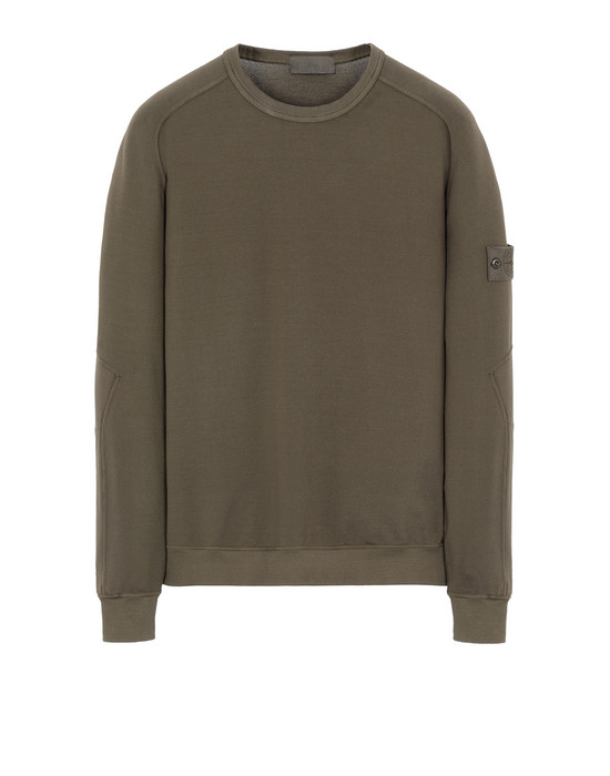 STONE ISLAND 637F3 GHOST PIECE Sweatshirt Man Military Green
