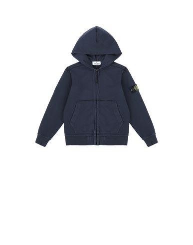 STONE ISLAND KIDS 60940 Sweatshirt Man Blue USD 216