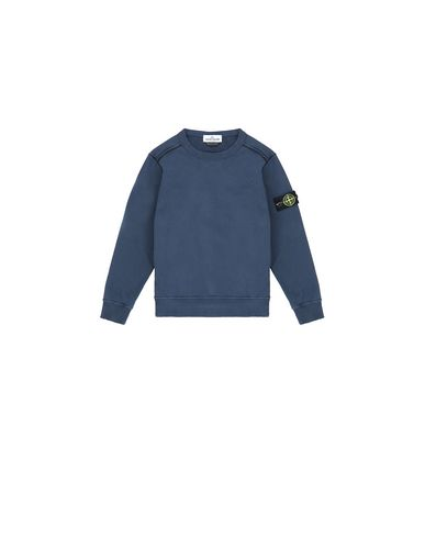 STONE ISLAND KIDS 61040 Sweatshirt Man Marine Blue USD 105