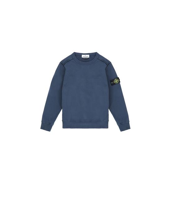 STONE ISLAND JUNIOR 61040 Sweatshirt Man Marine Blue