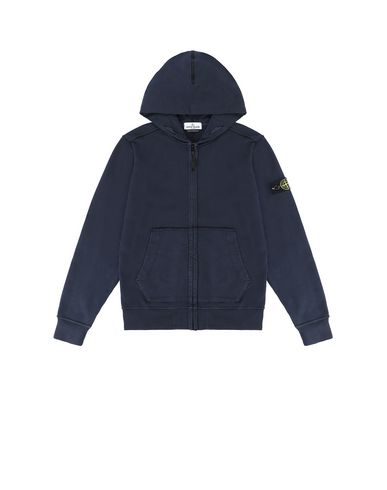 STONE ISLAND JUNIOR 60940 Sweatshirt Man Blue EUR 173