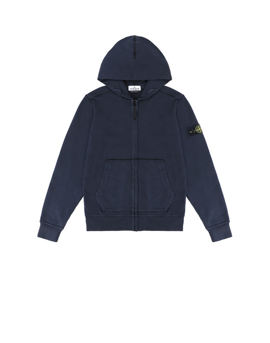 Sweatshirt Man 60940 Front STONE ISLAND JUNIOR