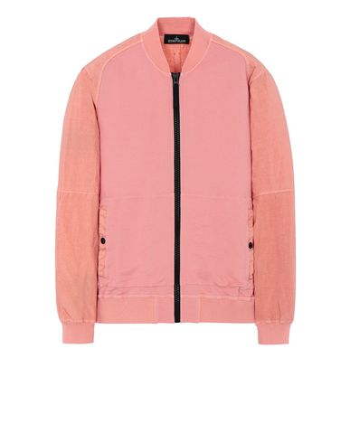 STONE ISLAND SHADOW PROJECT 60107 COMPACT BOMBER JACKET Sweatshirt Man Salmon pink USD 623