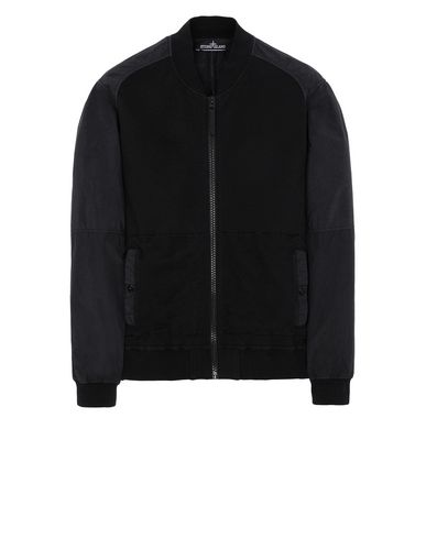 STONE ISLAND SHADOW PROJECT 60107 COMPACT BOMBER JACKET Sweatshirt Man Black USD 492
