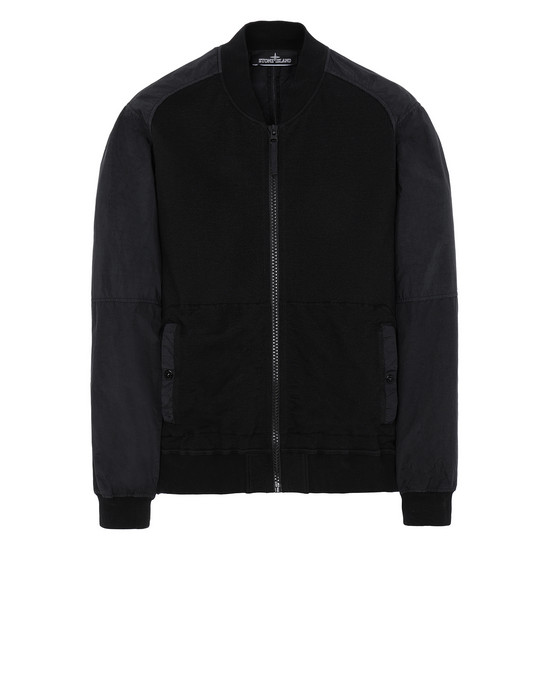 STONE ISLAND SHADOW PROJECT 60107 COMPACT BOMBER JACKET 스웻셔츠 남성 블랙