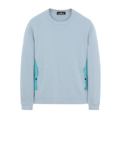 STONE ISLAND SHADOW PROJECT 60708 FLANK POCKET CREWNECK Sweatshirt Man Pearl Gray USD 380