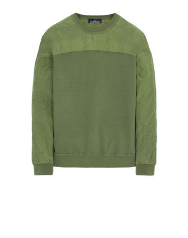 STONE ISLAND SHADOW PROJECT 60507 COMPACT CREWNECK Sweatshirt Man Olive Green EUR 315