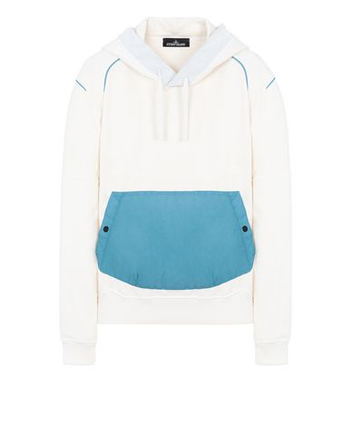 STONE ISLAND SHADOW PROJECT 60208 COMPACT HOODIE SWEATSHIRT Sweatshirt Man Natural White USD 286
