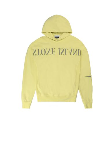 STONE ISLAND TEEN 61140  Sweatshirt Man Lemon EUR 160