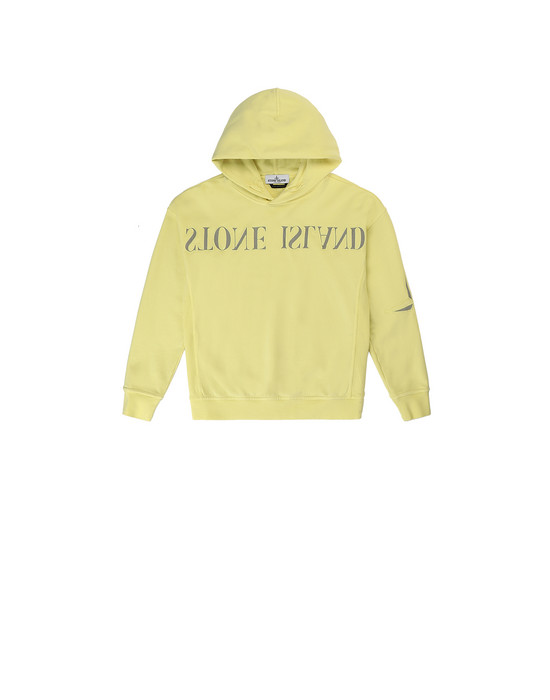 STONE ISLAND JUNIOR 61140  Sweatshirt Man Lemon
