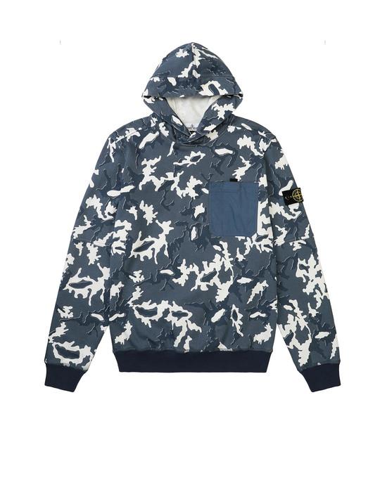 Sweatshirt Man 62543 CAMOUFLAGE Front STONE ISLAND TEEN