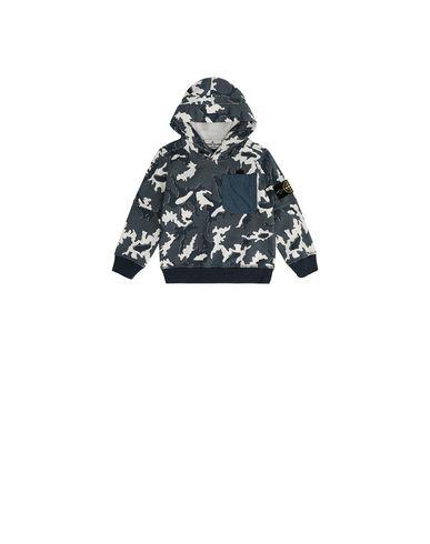 STONE ISLAND BABY 62543 CAMOUFLAGE Sweatshirt Man Blue EUR 146