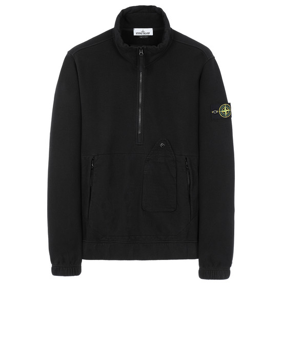 STONE ISLAND 61520 Sweatshirt Man Black