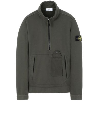 STONE ISLAND 61520 Sweatshirt Man Musk Green USD 375