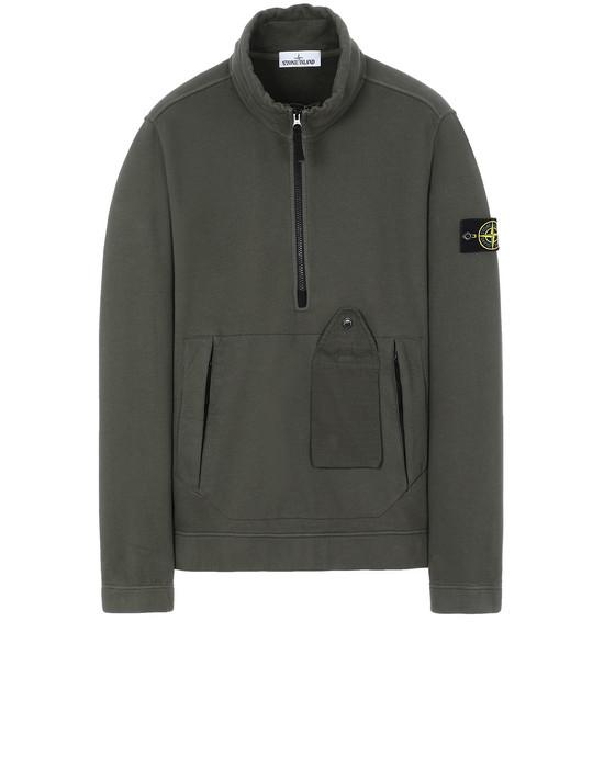 STONE ISLAND 61520 Sweatshirt Man Musk Green