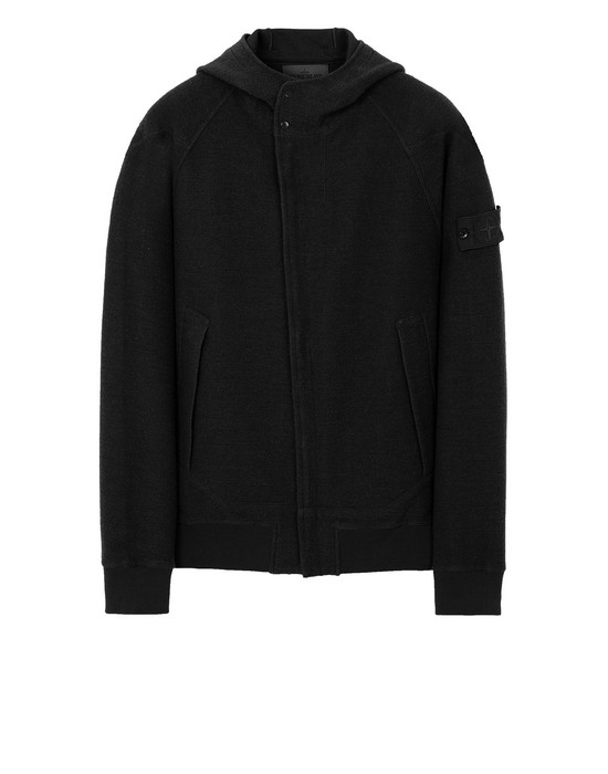 STONE ISLAND 651F5 GHOST PIECE Sweatshirt Man Black