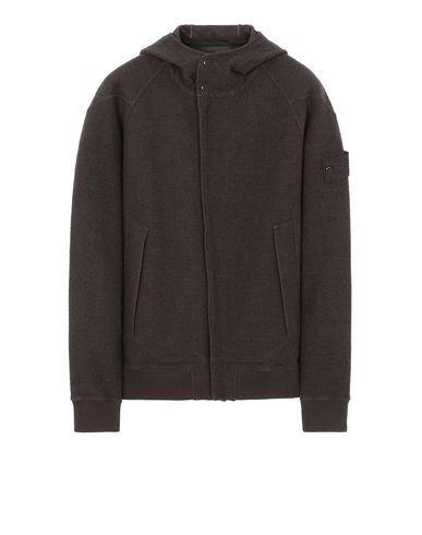 STONE ISLAND 651F5 GHOST PIECE Sweatshirt Man Dark Brown EUR 300