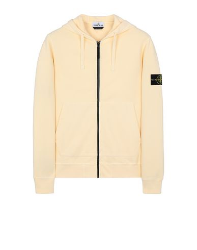 STONE ISLAND 64220 Sweatshirt Man Butter USD 338