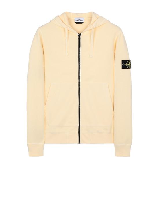 STONE ISLAND 64220 Sweatshirt Man Butter