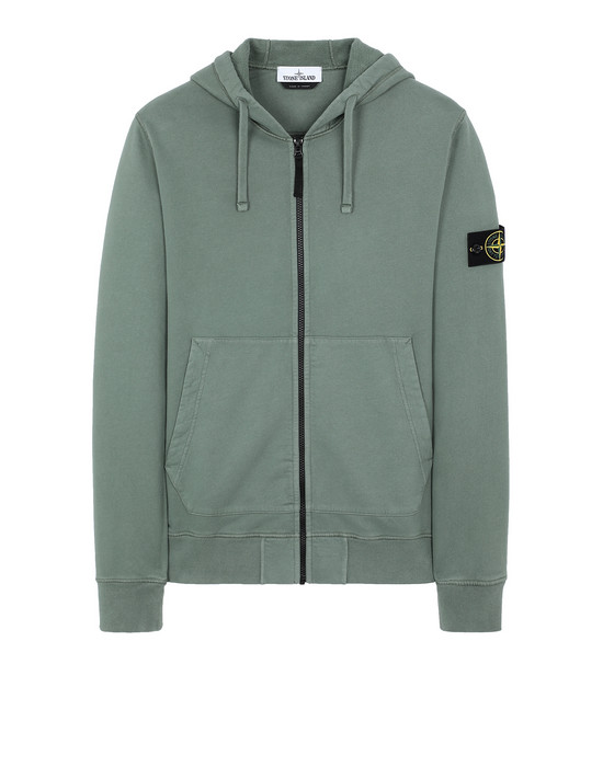 STONE ISLAND 64220 Sweatshirt Man Sage Green