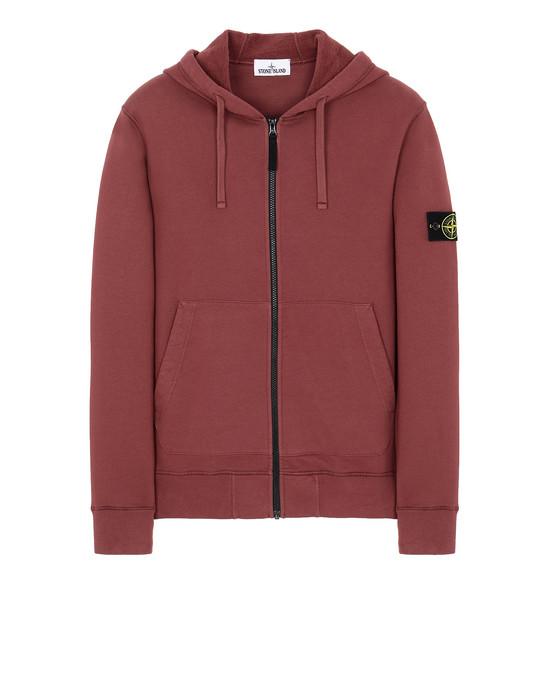 STONE ISLAND 64220 Sweatshirt Man Dark Burgundy