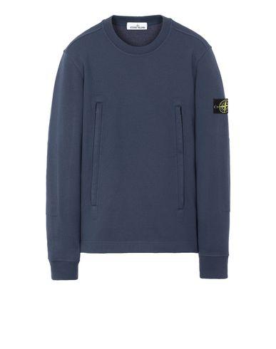 STONE ISLAND 60740 Sweatshirt Man Marine Blue USD 246