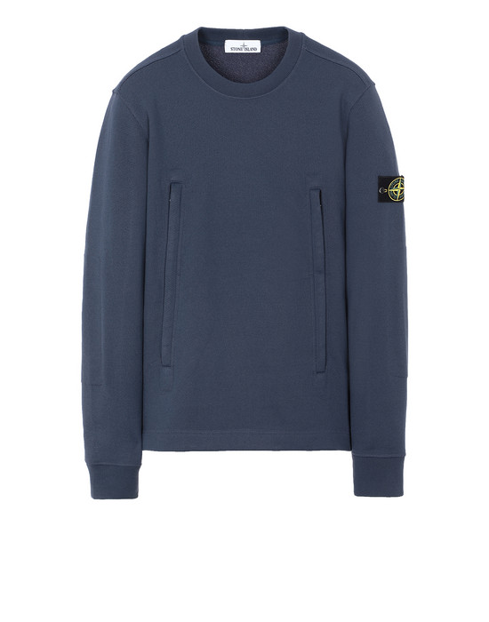 STONE ISLAND 60740 Sweatshirt Man Marine Blue
