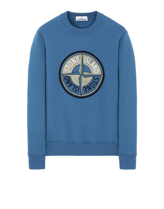 Sweatshirt 63094 3D THREAD COMPASS STONE ISLAND - 0