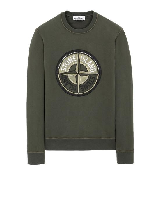 Sweatshirt 63094 3D THREAD COMPASS STONE ISLAND - 0