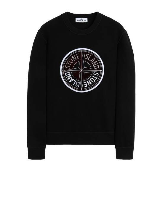 Sweatshirt Man 63094 3D THREAD COMPASS Front STONE ISLAND