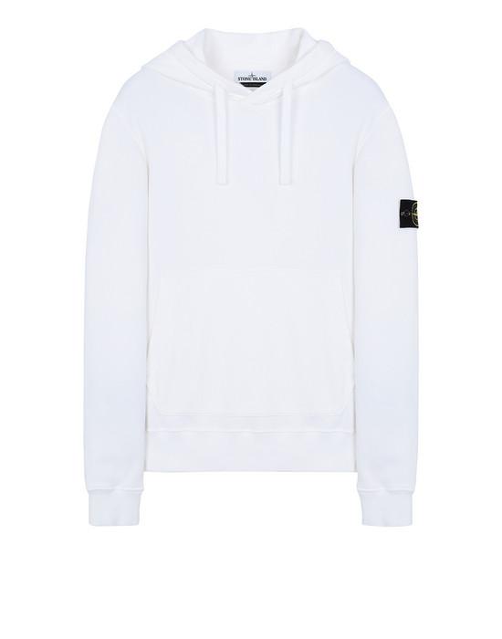 STONE ISLAND 64120 Sweatshirt Man White