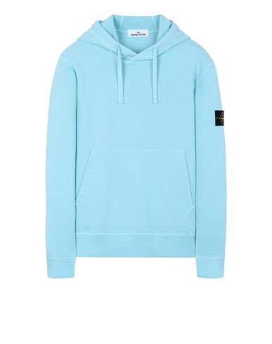 STONE ISLAND 64120 Sweatshirt Herr Wasserblau EUR 239