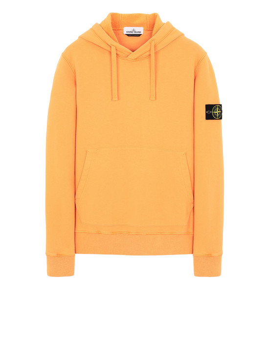 STONE ISLAND 64120 Sweatshirt Man Orange